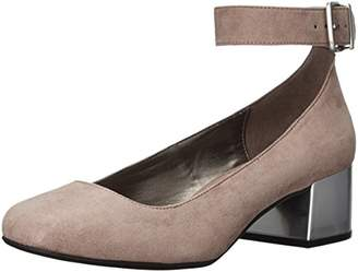 Kenneth Cole Reaction Women's Flip Around Round Toe Ankle Strap Dress Pump
