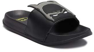 Batman Mask Slide Sandal (Little Kid & Big Kid)