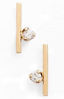 Chicco Zoe Floating Diamond Stud Earrings