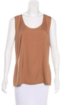 Fabiana Filippi Sleeveless Silk Top