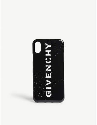Givenchy Logo print iPhone X case