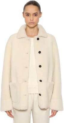 Jil Sander Reversible Shearling Short Coat