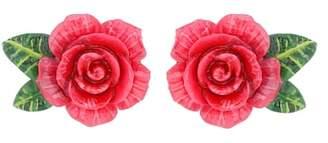 Dolce & Gabbana Rose clip-on earrings