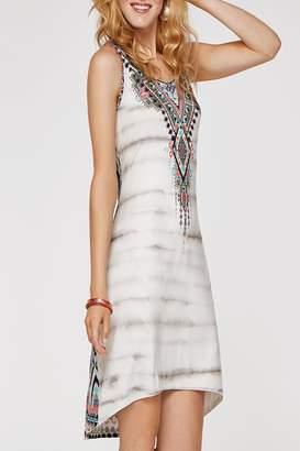 Tribal White Multi Dress
