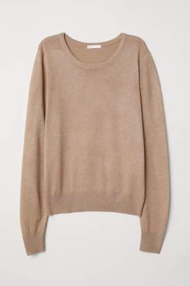 H&M Fine-knit jumper - Beige