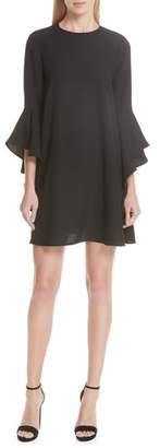 Ted Baker Ashley Waterfall Sleeve A-Line Dress