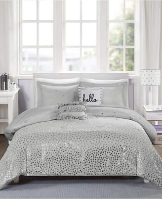 Zoey Intelligent Design Reversible 4-Pc. Twin/Twin Xl Comforter Set Bedding