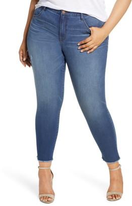 Wit & Wisdom Ab-solution Fray Hem Ankle Skinny Jeans