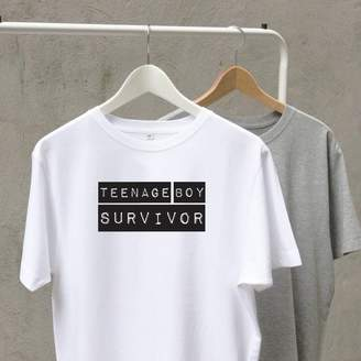 A Piece Of Personalised Parenthood Survivor T Shirt