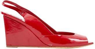 Miu Miu Red Patent leather Sandals