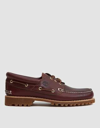 Timberland Authentics 3 Eye Classic Lug Shoe