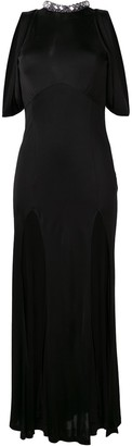 ATTICO front split gown