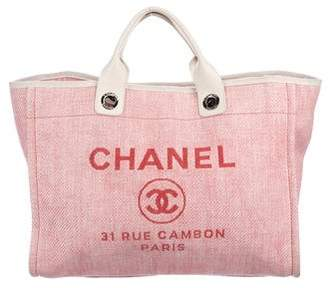 Chanel Medium Deauville Tote
