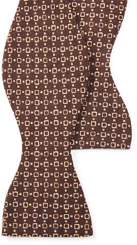 Polo Ralph LaurenPolo Ralph Lauren Print Linen Bow Tie