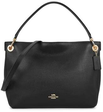 Coach Clarkson Black Leather Tote