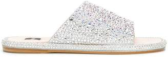 Rodo crystal embellished sandals