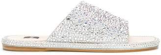 Rodo crystal embellished sandals