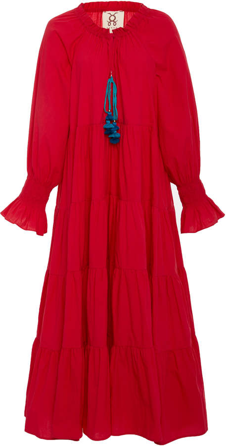 Figue Bella printed cotton dress