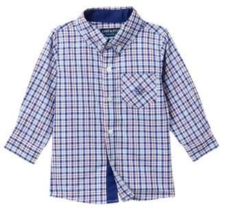Andy & Evan Checkered Button-Down Shirt (Baby Boys)