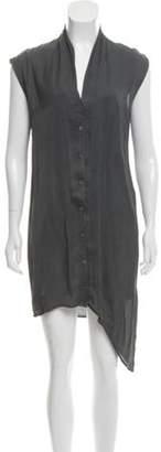 Helmut Lang Sleeveless Shirt Dress Sleeveless Shirt Dress