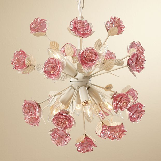 Rose Pop Chandelier