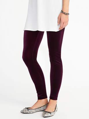 Old Navy Velvet Leggings for Women
