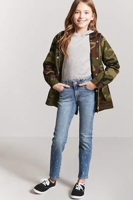 Forever 21 Girls Bleach Splatter Jeans (Kids)