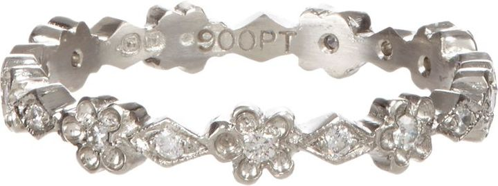 Cathy Waterman Women's Floral Band-Colorless