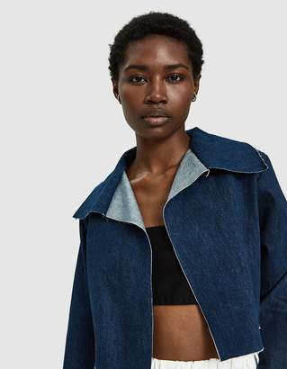 Ashley Rowe Cropped Denim Jacket