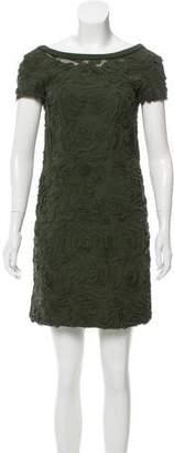 Philosophy di Alberta Ferretti Silk Textured Dress