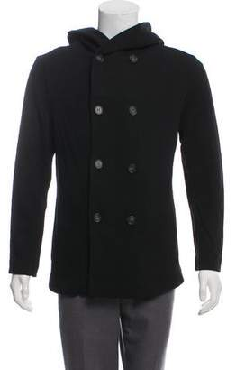 Garciavelez Double-Breasted Twill Jacket w/ Tags