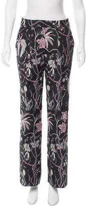 Giamba Mid-Rise Patterned Pants w/ Tags