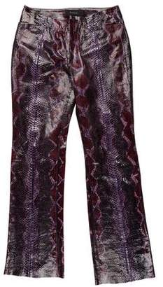 Gucci 2000 Python Skin Pants