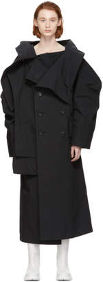 Yohji Yamamoto Black Cube Coat