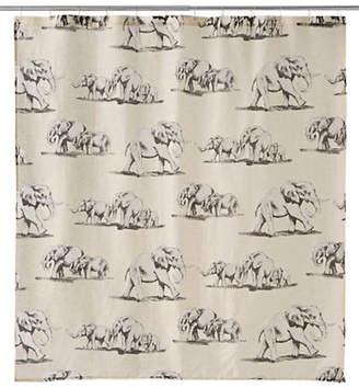Famous Home Fashions INC. (DD) Ghana Elephant Shower Curtain