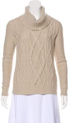 Lafayette 148 Cashmere Cowl-Neck Sweater