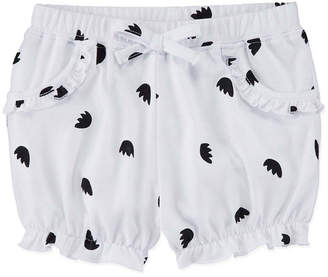 Okie Dokie Bubble Pull-On Shorts - Baby Girl NB-24M