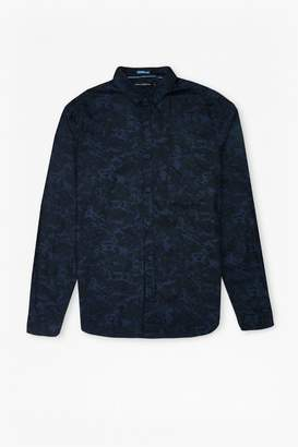 French Connection Lawson Marble Poplin Shirt