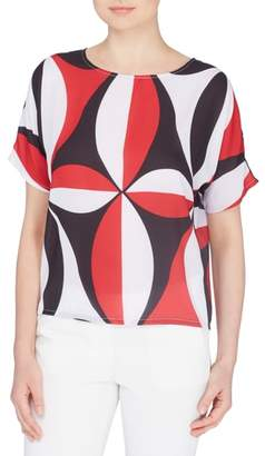 Catherine Malandrino Wells Print Top