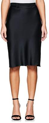 Nili Lotan Women's Silk Charmeuse Knee Skirt