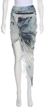 Helmut Lang Sleeveless Asymmetrical Tunic