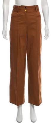 Diane von Furstenberg High-Rise Wide Leg Pants