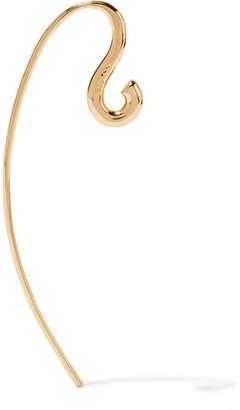 Charlotte Chesnais Hook Small Gold Vermeil Earring - one size