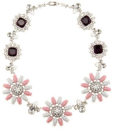 Miu MiuMiu Miu Crystal-embellished Necklace