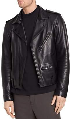 Vince Perfecto Leather Biker Jacket $1,450 thestylecure.com