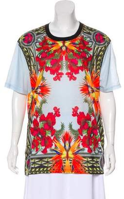 Givenchy Printed Crew Neck T-Shirt
