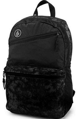 Volcom Academy Backpack - Black On Black One Size