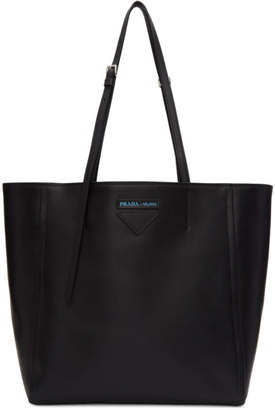 Prada Black Oversized Concept Tote