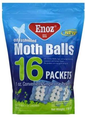 Moth Enoz 16 Packets Old Fashioned Balls, 1 lb