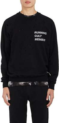 "Satisfy Men's ""Running Cult Member"" Cotton Sweatshirt"